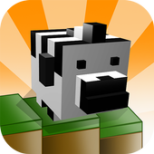 Zebra Downhill icon
