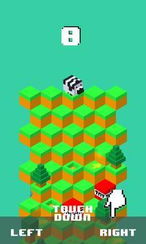 Zebra Downhill poster