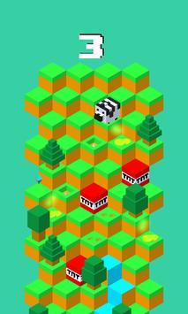 Zebra Downhill apk screenshot