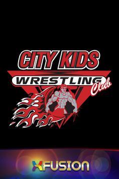 City Kids Wrestling Club. poster