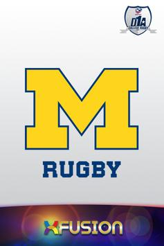 Michigan Rugby poster