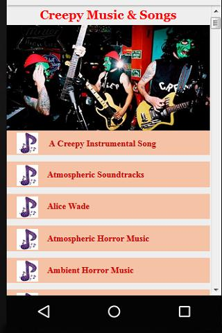 Creepy Music & Songs for Android - APK Download