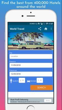 World Travel Booking Apps screenshot 1