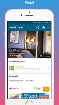World Travel Booking Apps screenshot 2