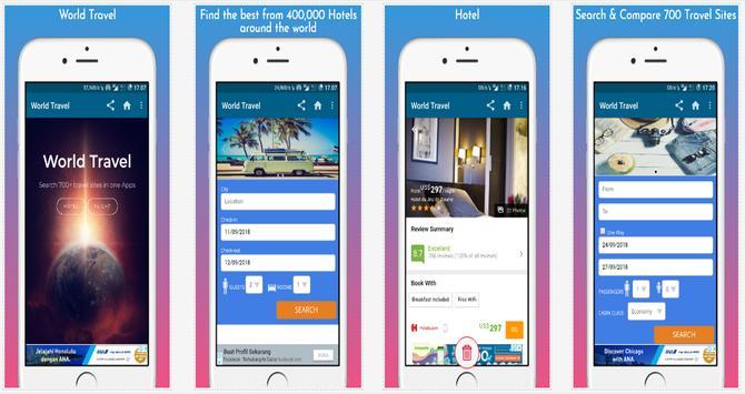 World Travel Booking Apps screenshot 5
