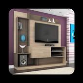 Shelves TV Furniture icon