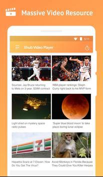 Xhub Video Player screenshot 2