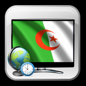 Free TV Algeria guide time icon