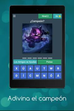 Adivina el Campeón screenshot 2