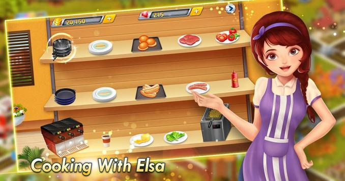 Elsa Kitchen :  Little Chef screenshot 1