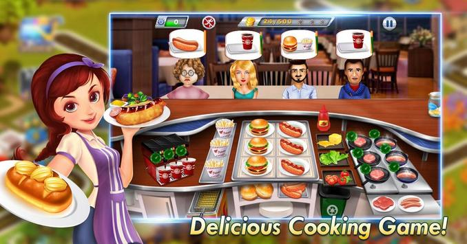 Elsa Kitchen :  Little Chef screenshot 2