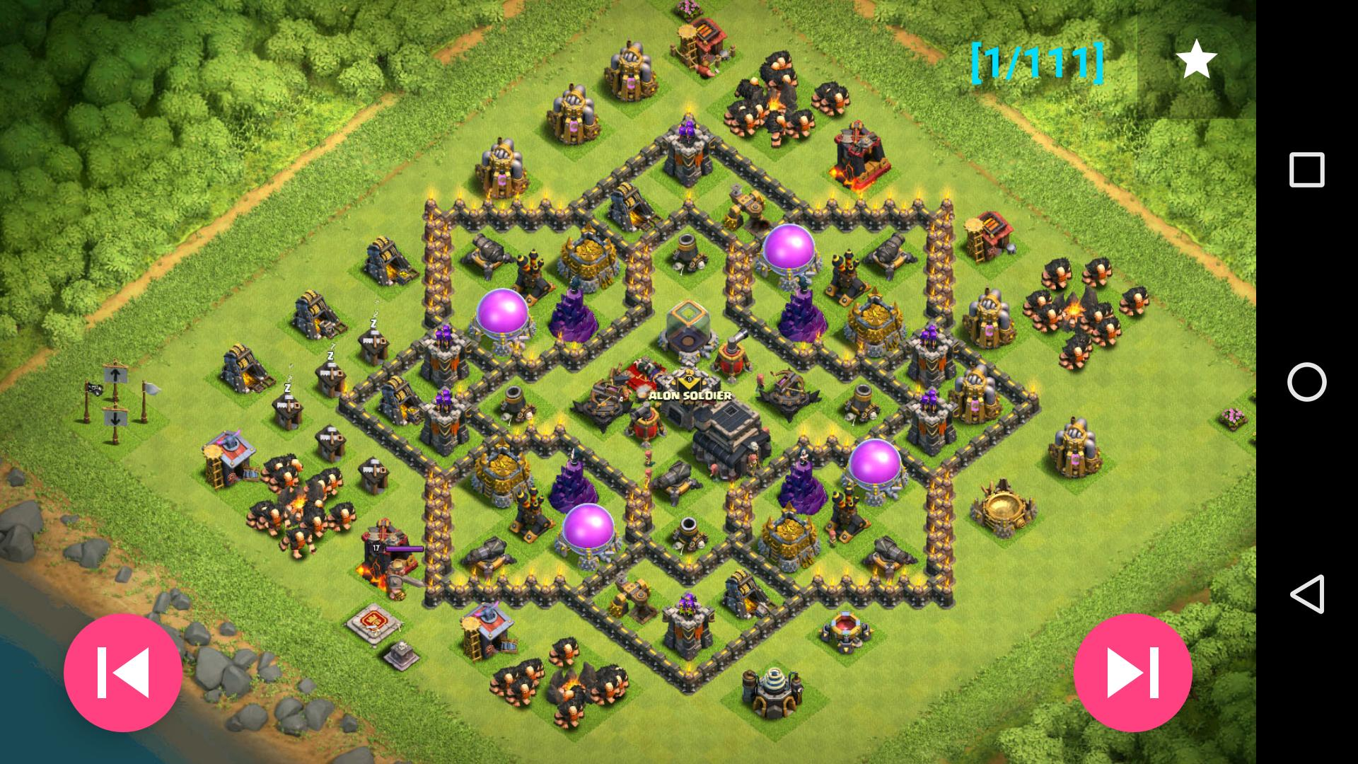 Base Coc Th 9 Terkuat 11