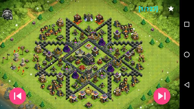Maps of coc th9 apk download free strategy game for android maps of coc th9 apk screenshot stopboris Images