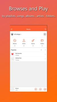 Xiaomi Music Player - Music for MiUi 9 スクリーンショット 1