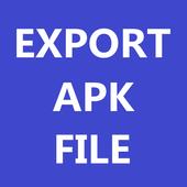 Export APK icon