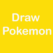 How to draw pokemon characters icon