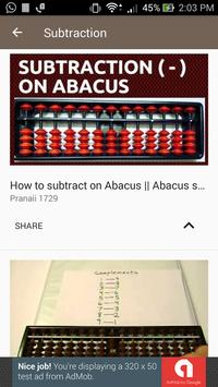 Learn Abacus Calculation - Abacus Videos for Kids screenshot 1