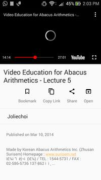 Learn Abacus Calculation - Abacus Videos for Kids screenshot 2
