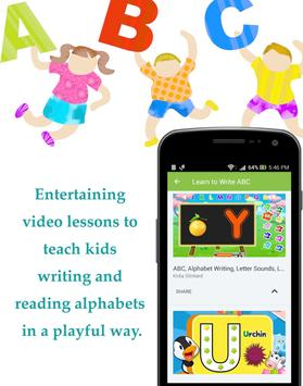 Kids' ABCD Learning : ABC Alphabets Songs & Rhymes screenshot 1
