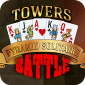 Towers Battle: Tripeaks or Pyramid Solitaire icon