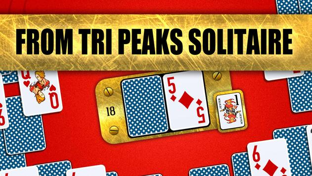 Towers Battle: Tripeaks or Pyramid Solitaire poster
