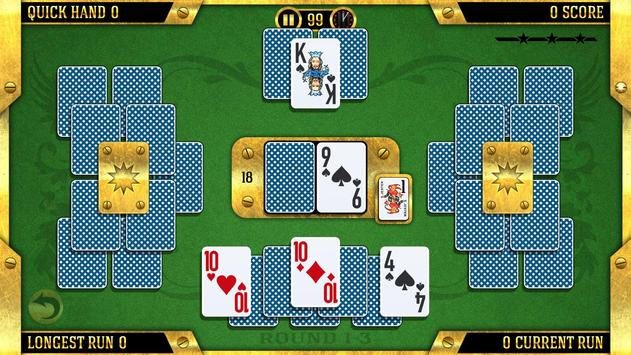 Towers Battle: Tripeaks or Pyramid Solitaire apk screenshot