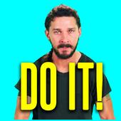 Just Do it Shia Meme Motivator icon
