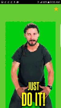 Just Do it Shia Meme Motivator screenshot 1