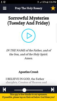 Holy Rosary (with Audio Offline) screenshot 1