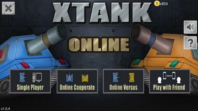 XTank Online poster