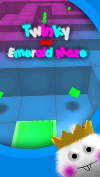 Twinky and Emerald maze apk screenshot