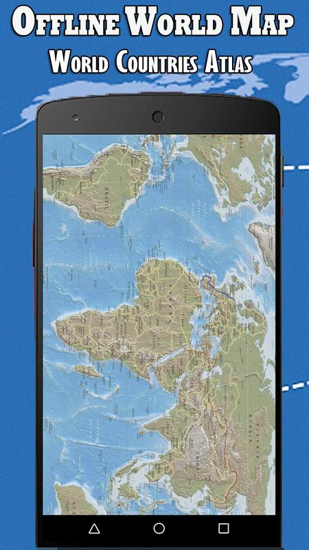 Offline World Map HD - 3D Atlas for Android - APK Download