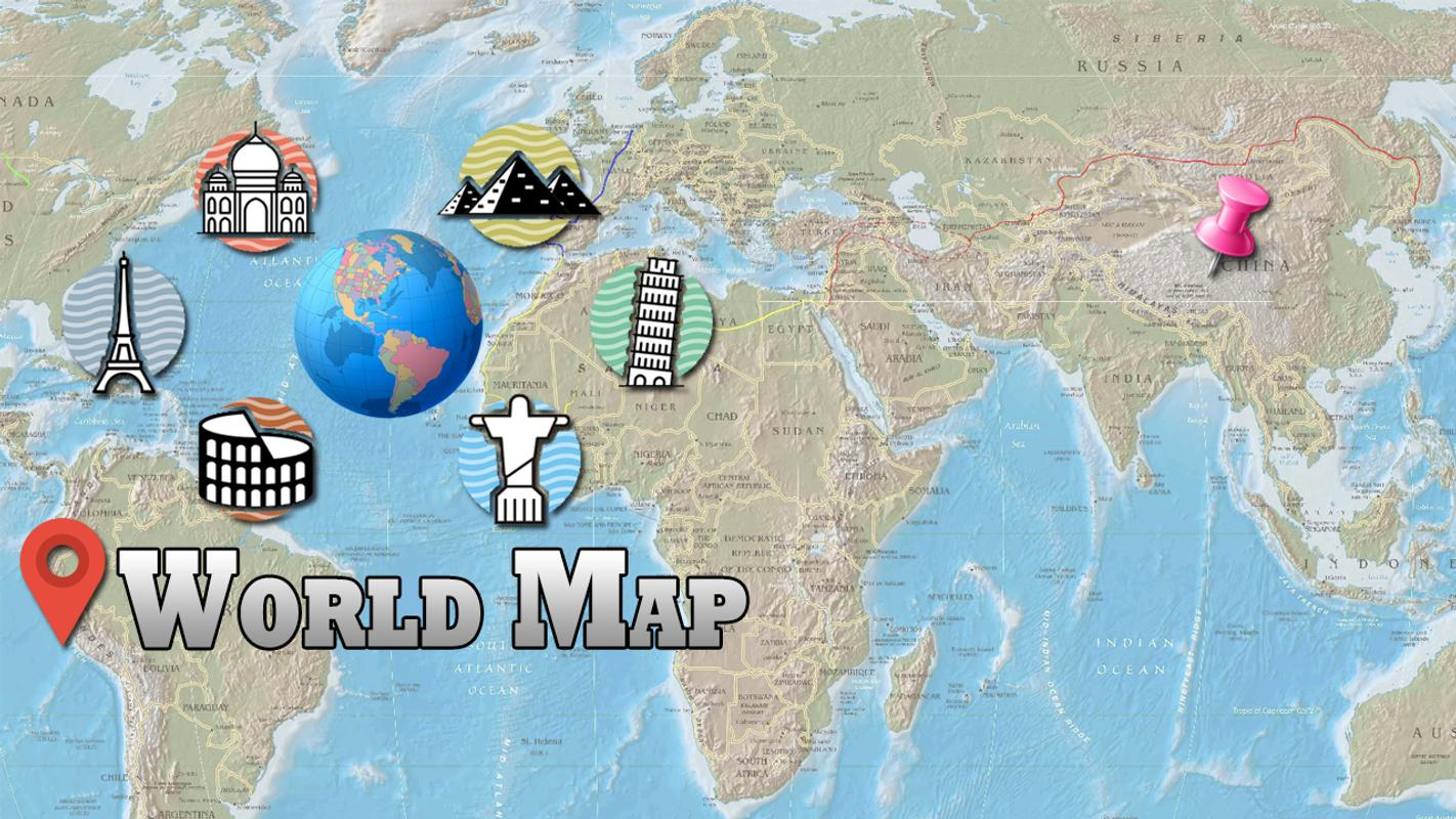 Offline world map hd 3d atlas street view for android apk download offline world map hd 3d atlas street view screenshot 12 gumiabroncs Image collections