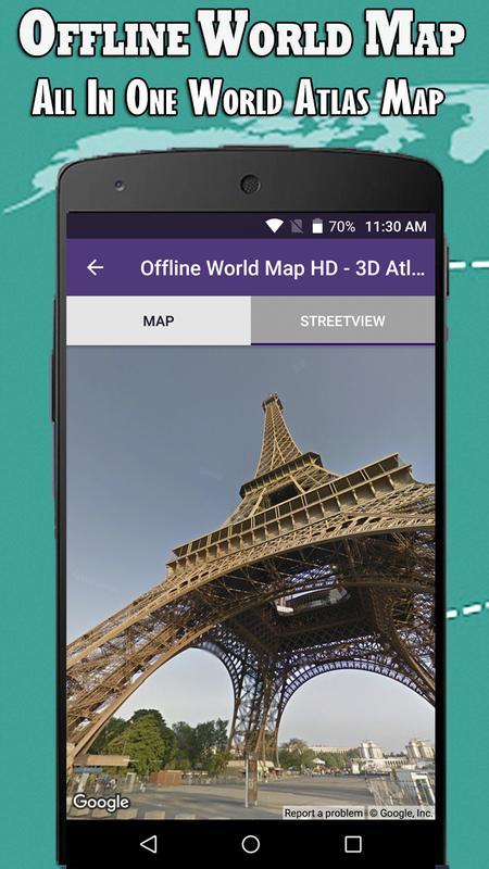 Offline world map hd 3d atlas street view for android apk download offline world map hd 3d atlas street view screenshot 13 gumiabroncs Image collections