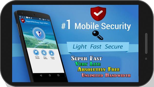 SuperVPN Proxy: Fast VPN Connect poster