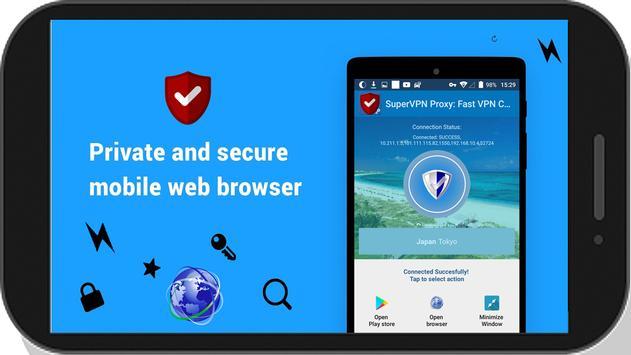 SuperVPN Proxy: Fast VPN Connect screenshot 20