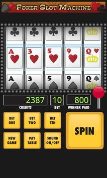 Poker Slot Machine apk screenshot