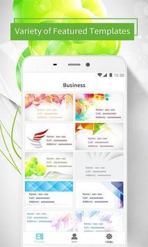 Pro Business Card Maker & Creator - Design BizCard poster