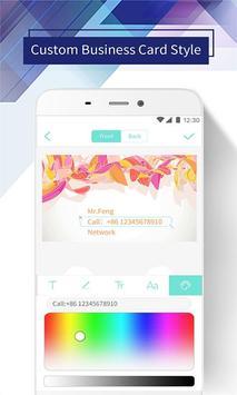 Pro Business Card Maker & Creator - Design BizCard apk screenshot