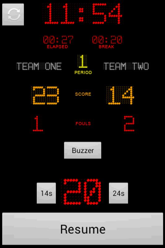 basketball timer for android apk download