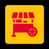 Tummy truck finder icon