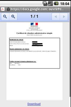 Certificandroid screenshot 2