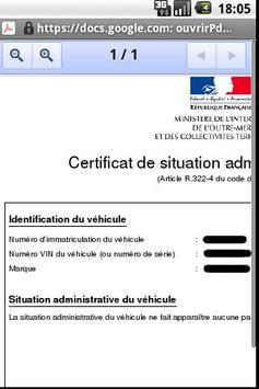 Certificandroid screenshot 3