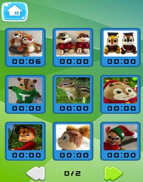 Sliding Puzzle of Chipmunks poster