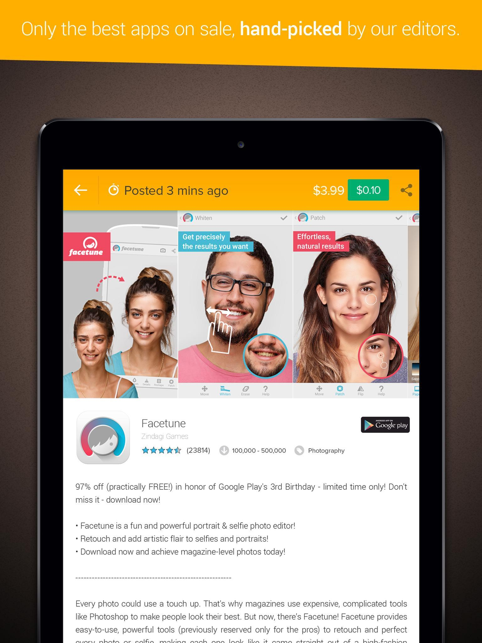 Deal King : Paid Apps for Free for Android - APK Download