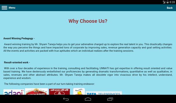 Unnati Unlimited screenshot 8