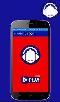 Commando 2 Movie Lyrics Full poster