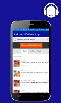Badrinath KiDulhania Lyrics OK apk screenshot