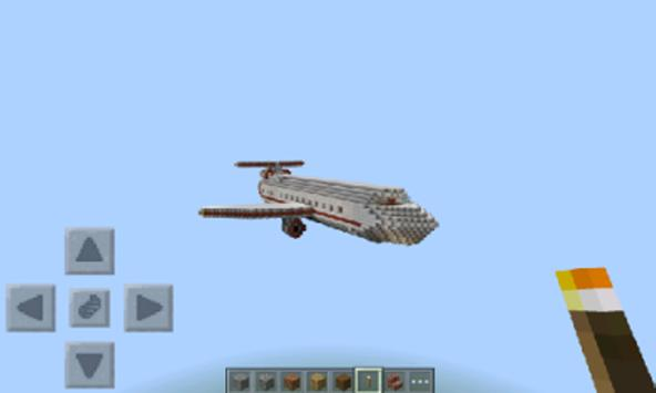 Airplane Mod For Minecraft Pe poster