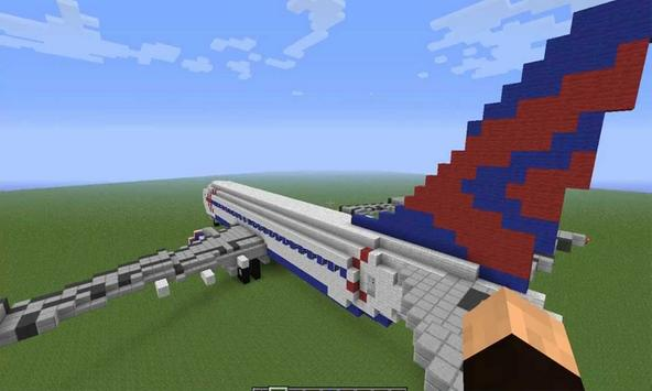 Airplane Mod For Minecraft Pe apk screenshot